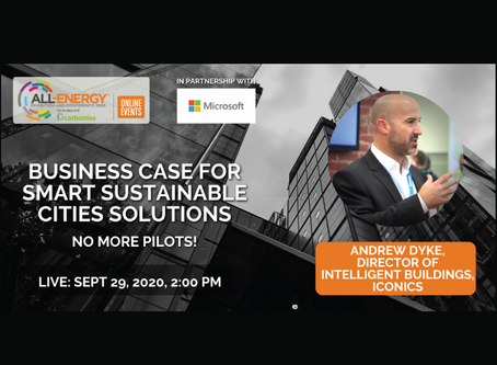Smart City Sustainable Solutions Webinar