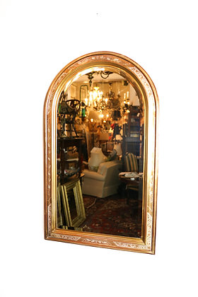Beveled Mirror with Domed Top