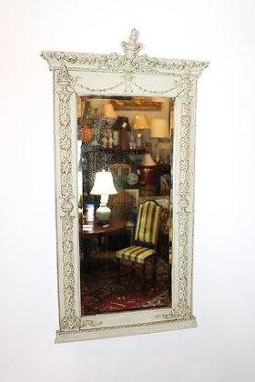 19th-Century Gustavian Painted Mirror