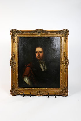 18th-Century Painting of Dutch Gentleman