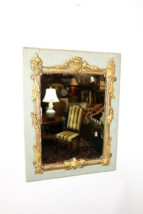 18th-Century Italian Painted Mirror