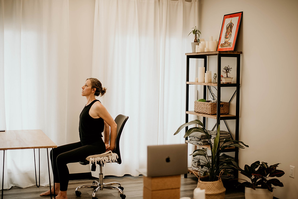 Therapeutic Yoga, Meditation practice, mindfulness and stretching techniques