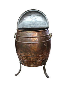 18th Century Dutch Copper Water Butt