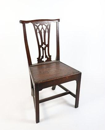18th-Century English Oak Chair
