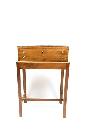19th-Century Custom Lap Desk on Stand