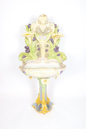 19th-Century French Faience Lavobo