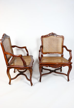 Pair of Louis XV Style French Chairs