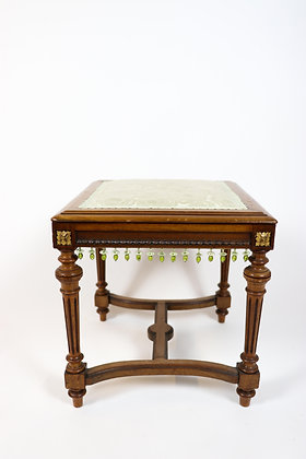 Continental Stool with Designer Fabric