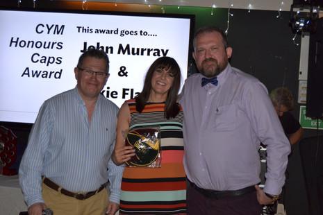 Honours Cap Award - Jackie Flately