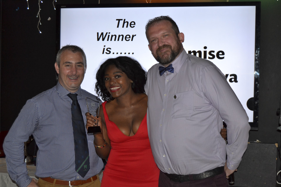 Promise Chapwanya - Newcomer of the Year