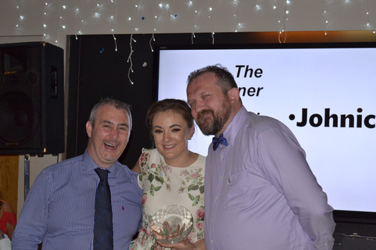 Monica Beresford - Clubwoman of the Year