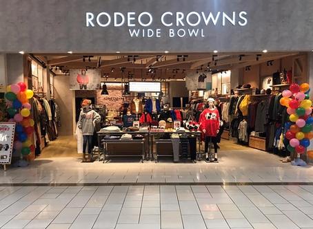 RODEO CROWNS WIDE BOWL Kusatsu AEON MALL OPEN