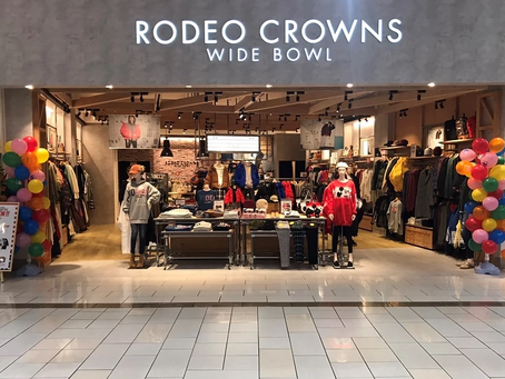 RODEO CROWNS WIDE BOWL Kusatsu AEON MALL OPEN