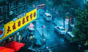 Cidade na China é atingida por chuva de frutos do mar