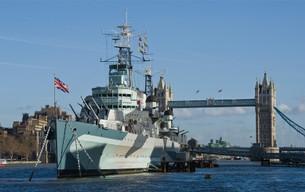 London Boat Show 2017 e uma visita ao navio-museu da Marinha Real Britânica