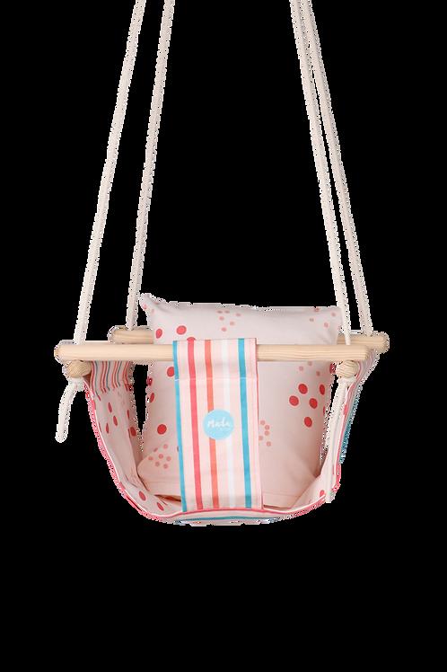 Pink Stripes BabySwing