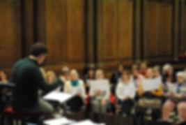 Trinity Sigrs Rehearsal