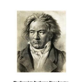 Beethoven Piano Sonatas Festival Booklet