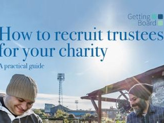 Free guide to help charities recruit trustees published