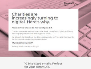 Free tool to help charity leaders understand value of digital