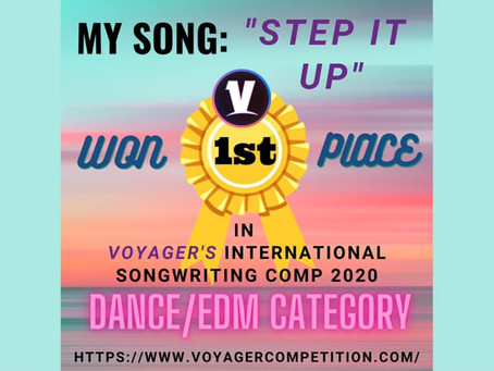 WINNER EDM CATEGORY!!! - Voyager - Online Music & Talent Competitions