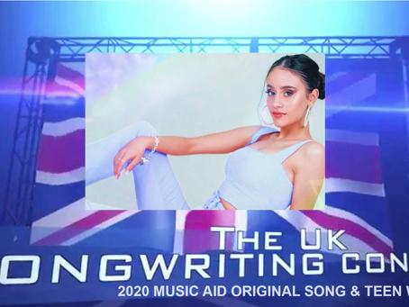 DOUBLE-AWARD WINNER!!! - UK Songwriting Contest 2020