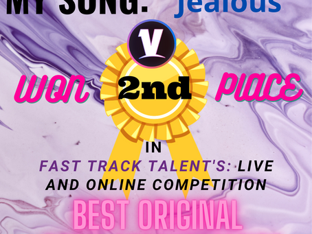 2nd PLACE BEST ORIGINAL SONG PERFORMANCE - Voyager - Online Music & Talent Competitions