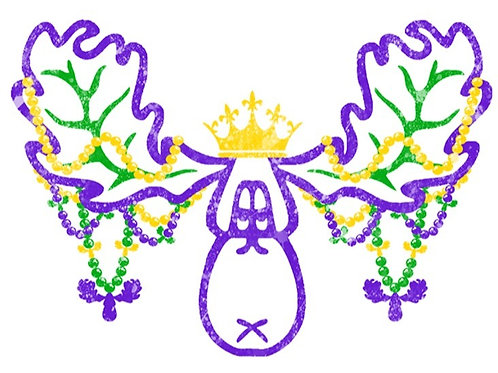 Moose w/beads