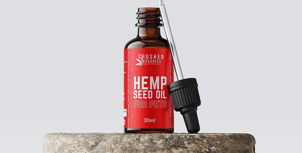 Hemp Seed Oil For Pets