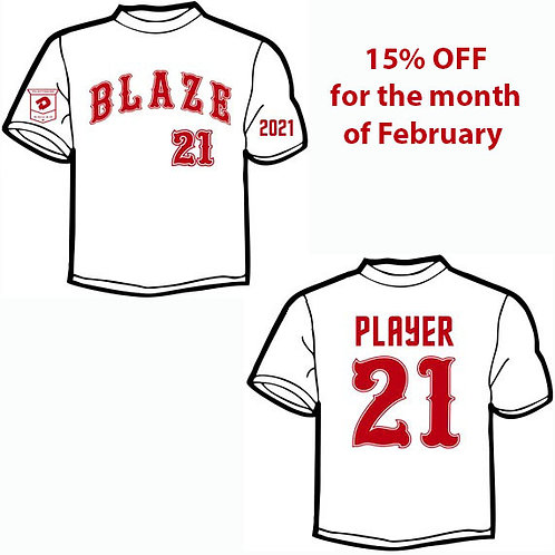 Gaffney Jersey - On Sale for Month of February