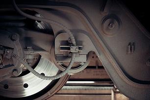 Camión inspección de frenos