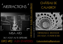 flyer abstractions Misa Ato adn culture