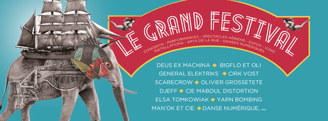 Affiche du Grand Festival de Verdun /Contemporary Mythology