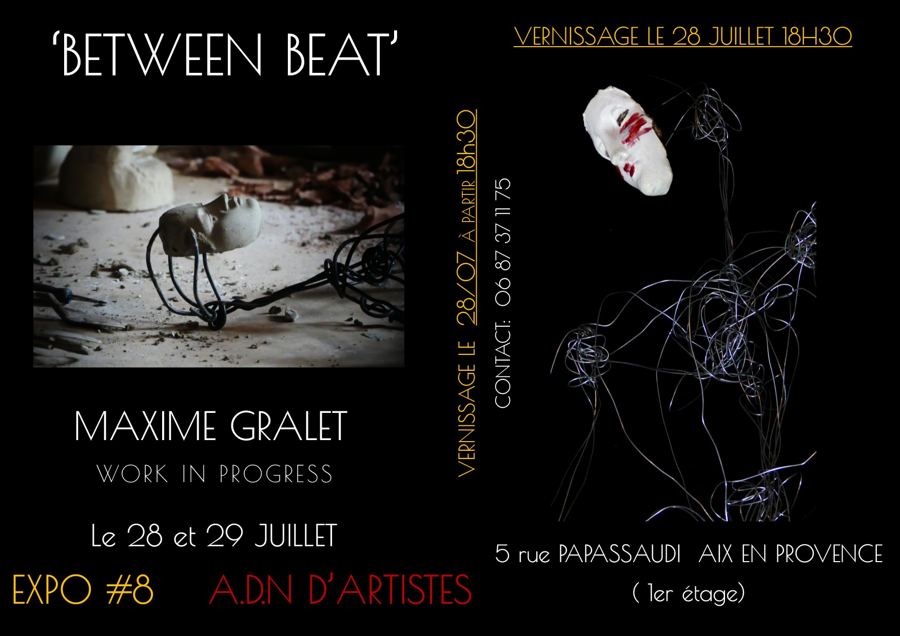 between beat flyer maxime gralet