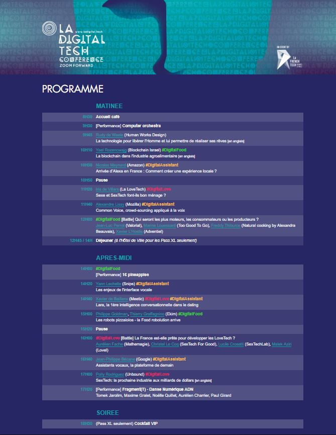 programme digital tech