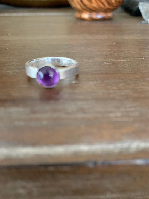 Delicate Amethyst Ring