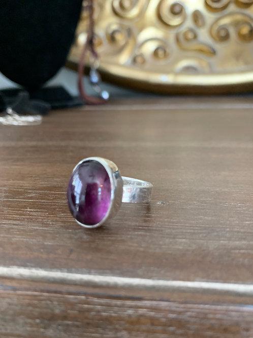Amethyst Drama Ring