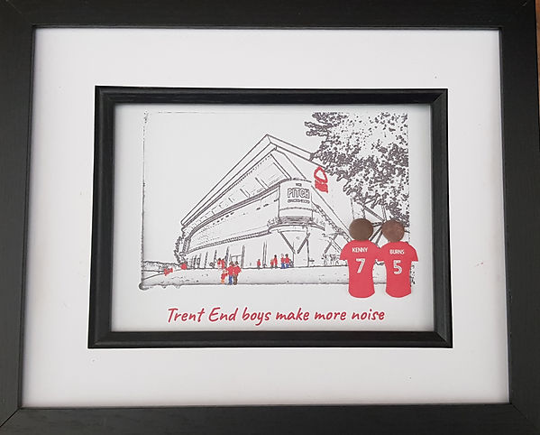 Nottingham Forest fan gift idea. Going to The City Ground Nottingham to watch Forest.