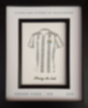 Newcastle United fan gift idea. St James Park Toon Army Howay the lads