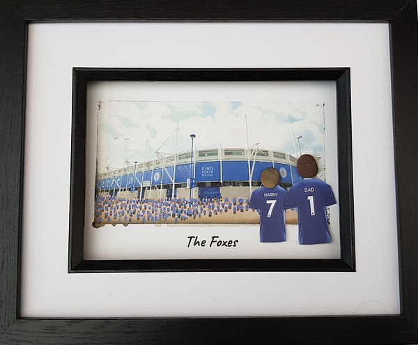 Leicester City Football Club fan gift idea. Kingpower Stadium. Foxes Fans going to the game