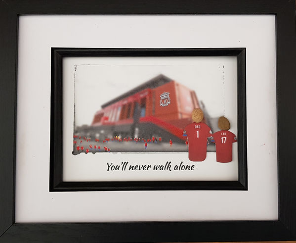 Liverpool Football fan gift idea going to Anfield to watch The Reds