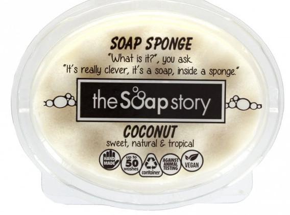 Coconut Soap Sponge