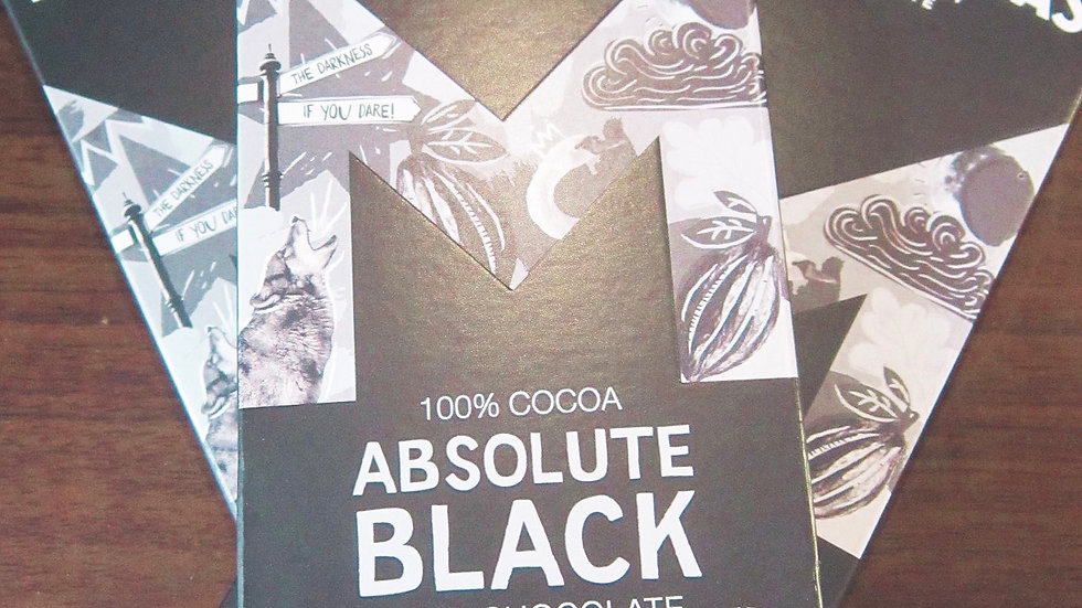 Montezuma's 100% cocoa, Absolute Black