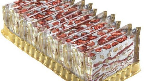 Quaranta Nougat Strawberry Creme Slice