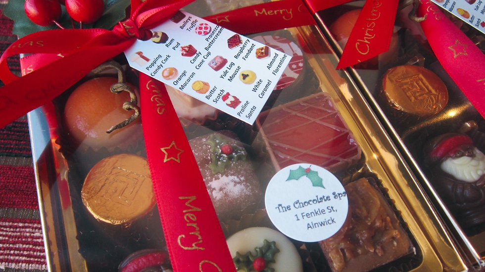 12 Chocolate Festive Gift Box