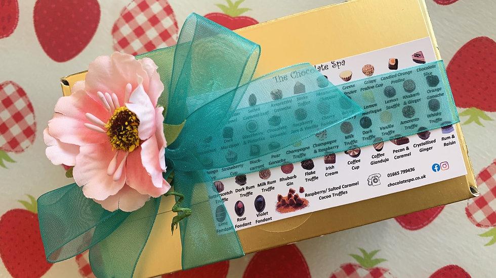 12 Chocolate Lucky Dip Ballotin Box