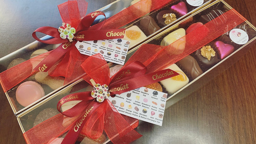 X2 Chocolate Gift Boxes