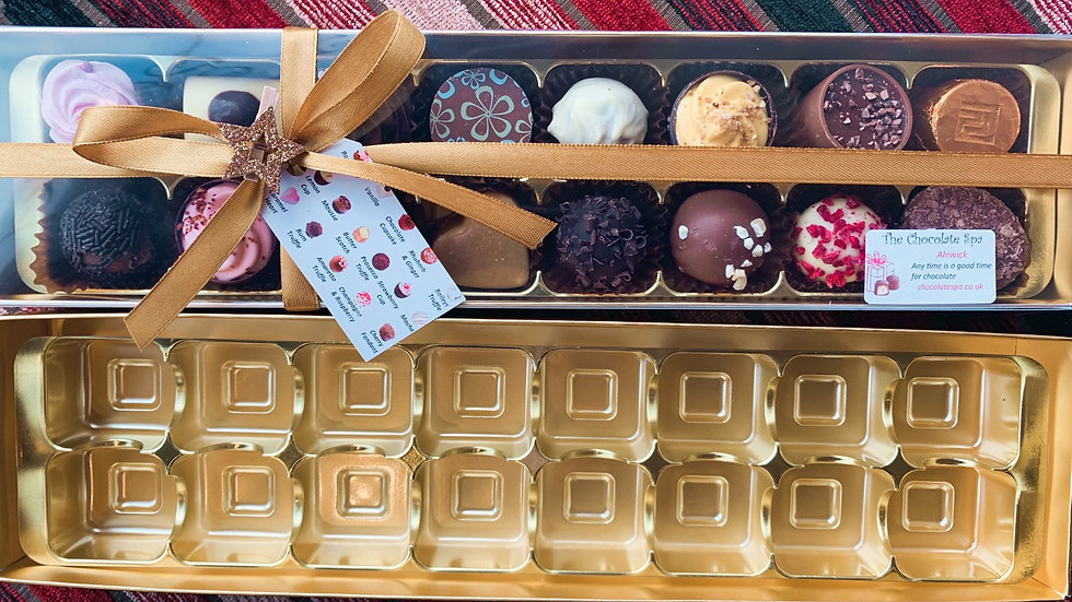 Build Your Own 16 Chocolate Box