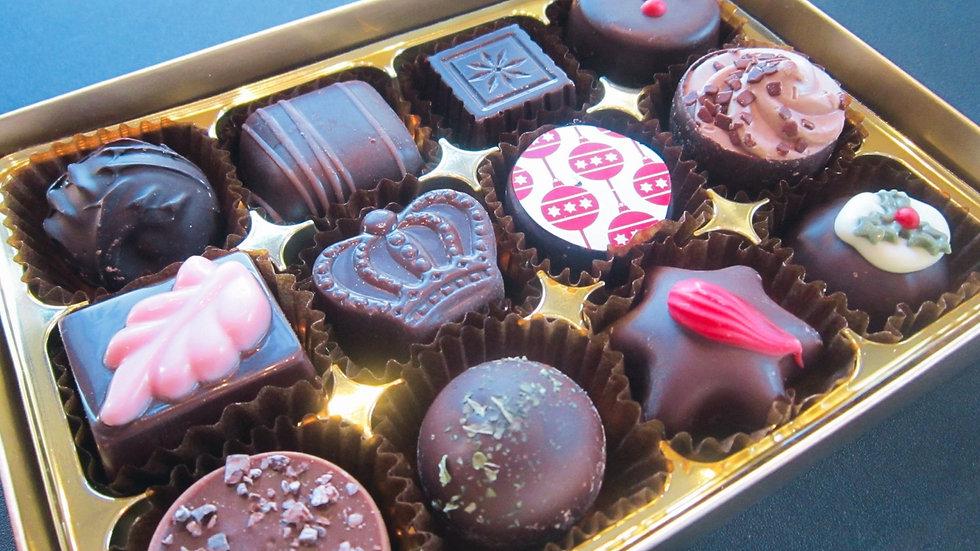 Only Dark 12 Chocolate Gift Box