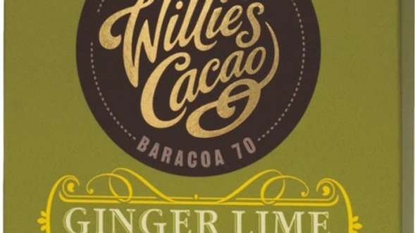 Willie's Cacao Ginger & Lime
